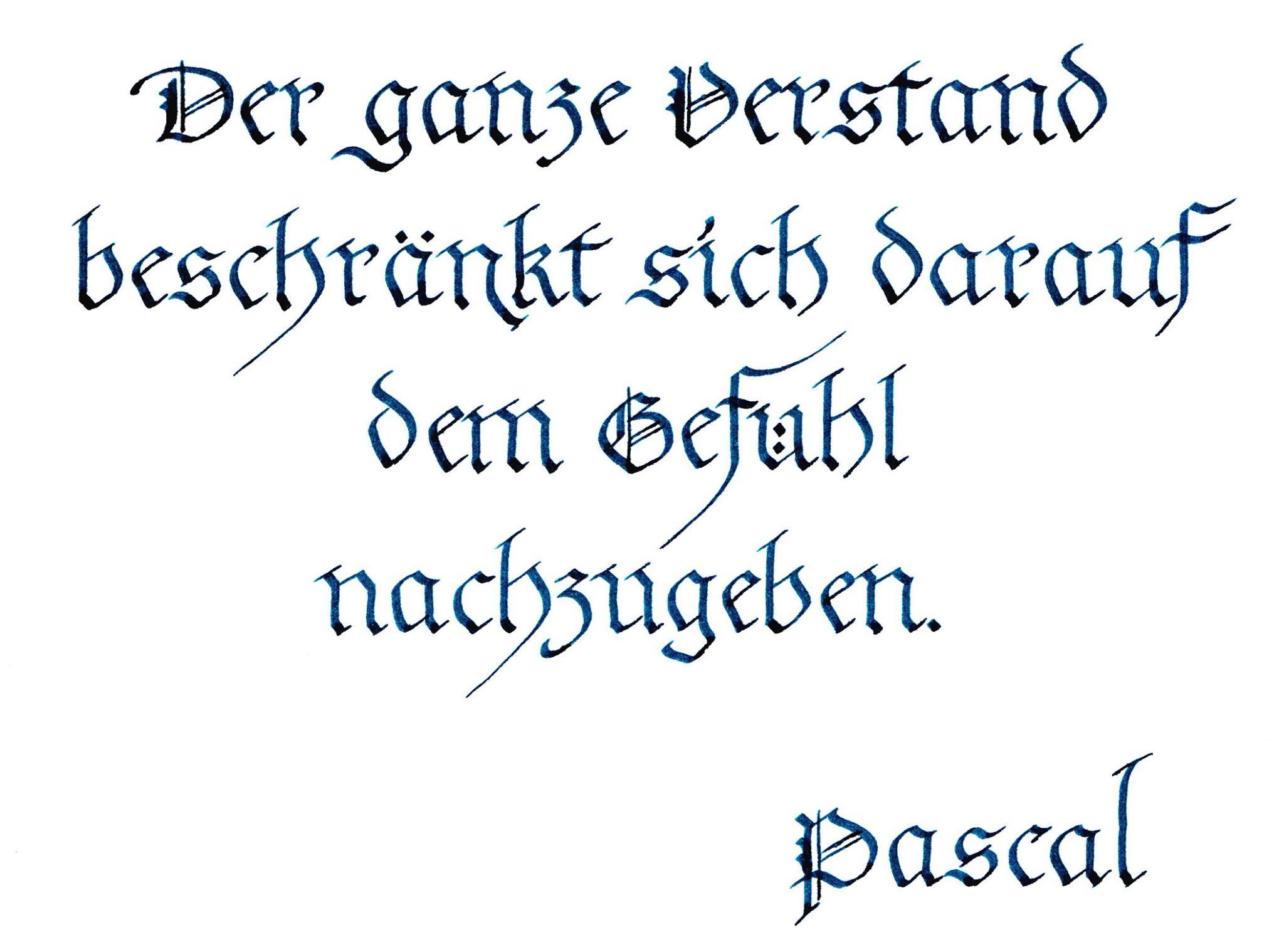 Zitat Pascal
