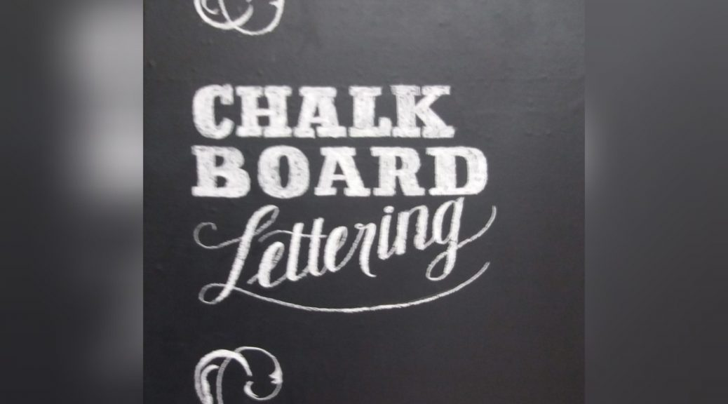 Chalkboardlettering